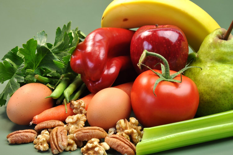 B vitamins in food